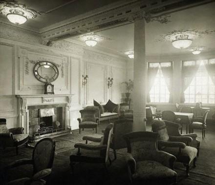 La sala di lettura e di scrittura.